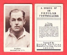 Manchester City Fred Tilson England